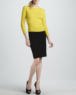 Diane von Furstenberg Noa Bis Zip Sweater & New Koto Skirt