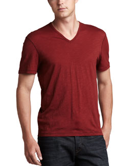 John Varvatos Star USA V-Neck Tee