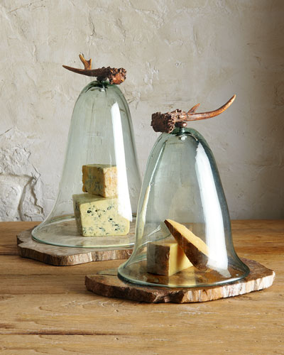 "Janice Minor ""Antler"" Cheese Domes"