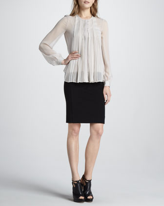 Fannie Chiffon Blouse & New Koto Skirt