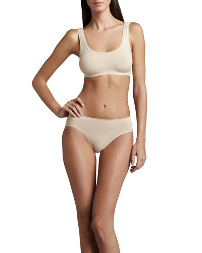 Hanro Touch Feeling Crop Top & High-Cut Briefs