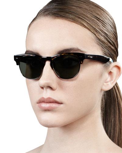 TOMS Eyewear Lobamba Semi-Round Sunglasses