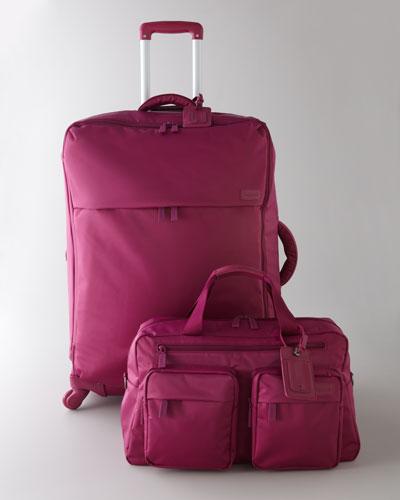 Lipault Fuchsia Luggage
