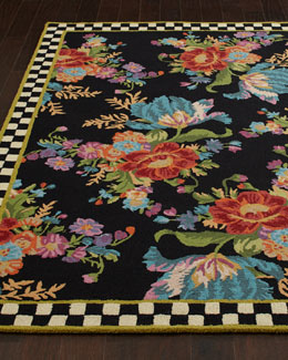 "MacKenzie-Childs ""Flower Market"" Rug"
