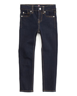 7 For All Mankind Skinny Rinse Jeans, Rinsed Indigo