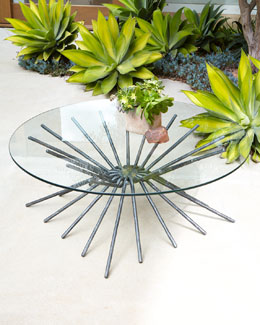 """Starburst"" Coffee Table/Console"