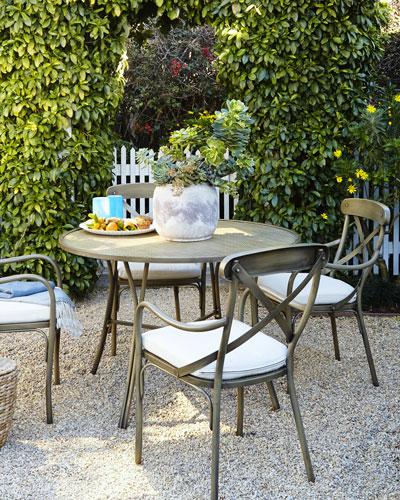 Parker James Bordeaux Outdoor Bistro Dining Furniture