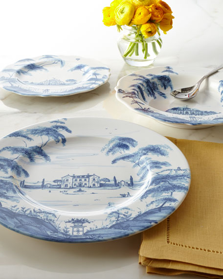 Juliska Four Country Estate Main House Dinner Plates