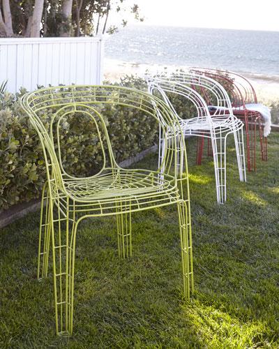 """PALECEK IMPORTS """"Alfresco Mazatlan"""" Outdoor Chair"""
