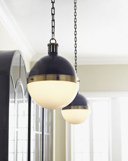 "VISUAL COMFORT ""Hicks"" Pendant Light"