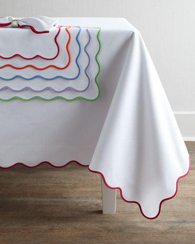 Matouk Lanai Tablecloths, Placemats, & Napkins