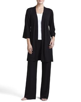 Cosabella Talco Anouk Short Robe, Jersey Camisole & Pajama Pants