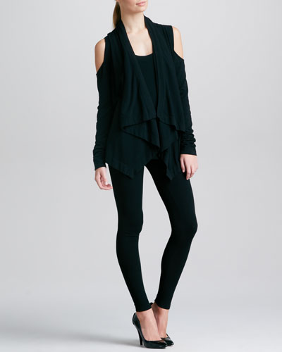 Donna Karan Cold-Shoulder Cozy, Tank Tunic & Leggings