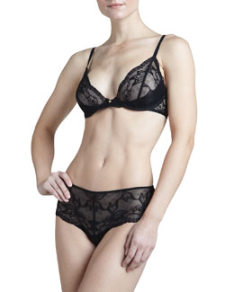Natori Nuit Underwire Bra & Nuit Stretch-Lace Briefs