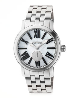 Brera 42mm Valentina II Stainless Steel Watch Head & 22mm Bracelet Strap