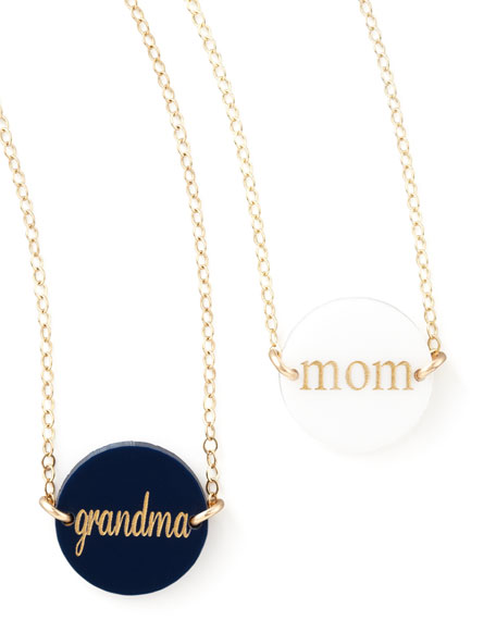 Moon and Lola Manchester Necklace