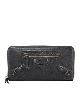 Balenciaga Classic Continental Zip Wallet