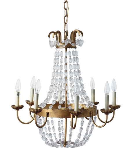 Chapman & Meyers Paris Flea Market Small 8-Light Chandelier