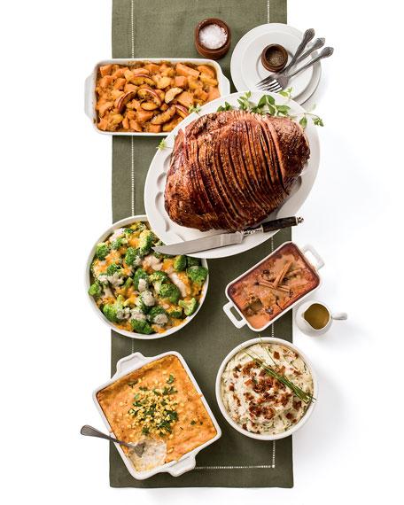 Honey-Glazed, Spiral-Cut Half-Ham Meal