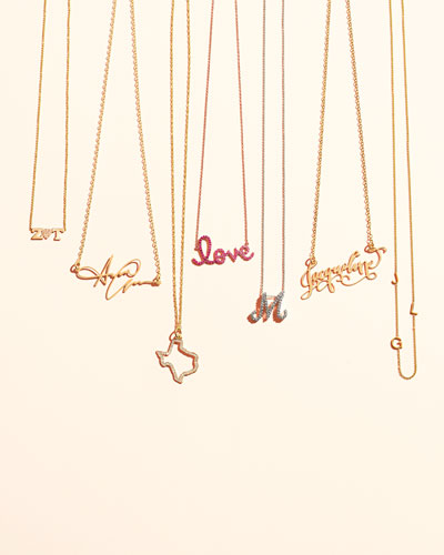 Zoe Chicco Personalized Necklaces