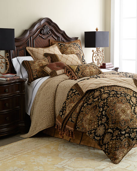 King Casablanca Chenille Duvet Cover