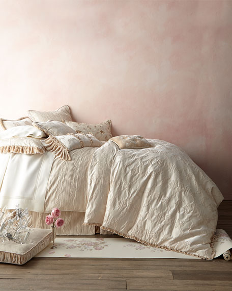 Le Creme Maison Queen Stripe Duvet Cover