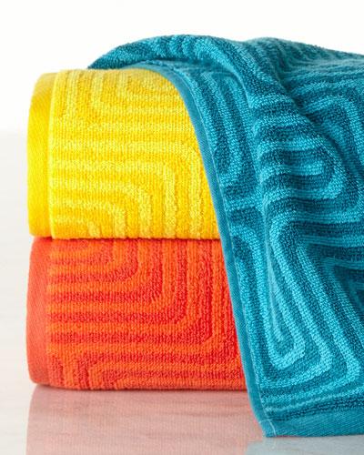 Amazing Maze Towels