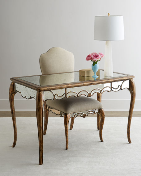 Hooker FurnitureBriganti Mirrored Writing Desk