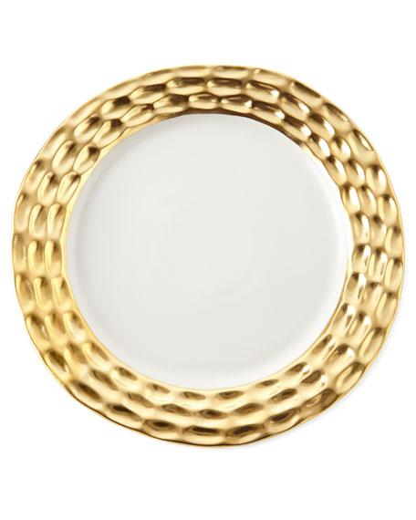 Truro Gold Bread Plate