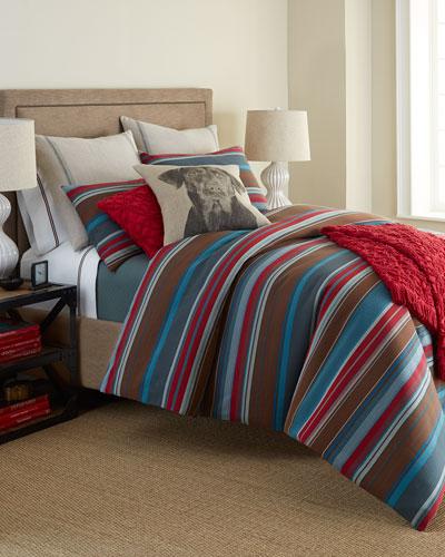Chalet Stripe Bedding