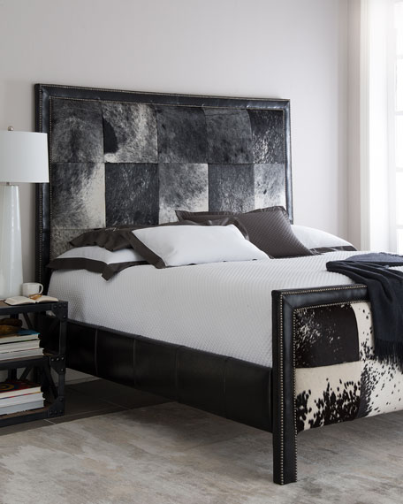 Old Hickory Tannery Omaha King Hairhide Bed