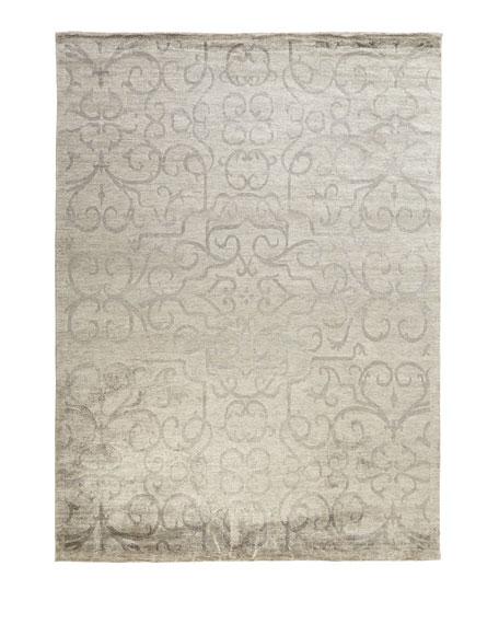 Exquisite Rugs Destiny Oushak Rug, 6' x 9'