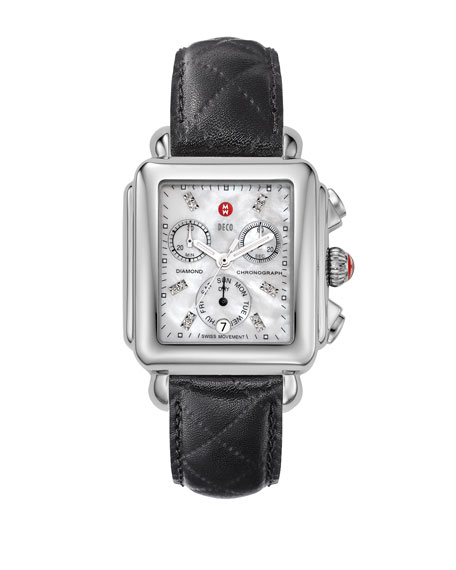 18mm Deco Diamond Dial Watch Head
