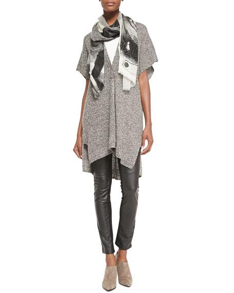 Eileen Fisher Silk Jersey Long Slim Camisole, Women's