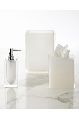 Jonathan Adler White Hollywood Pump Dispenser White Hollywood Tissue Box Cover
