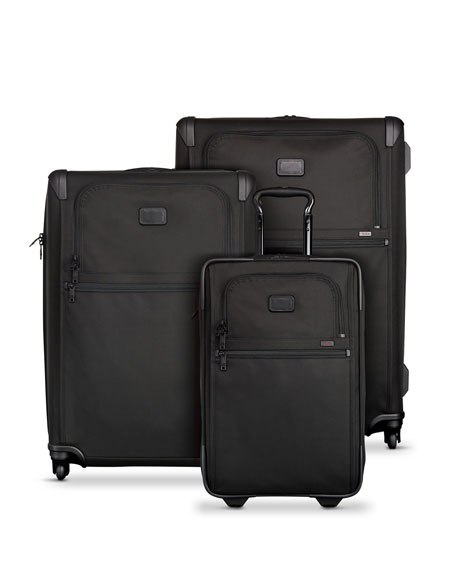 Tumi Alpha 2 Black International Expandable Two-Wheeled Carry-On