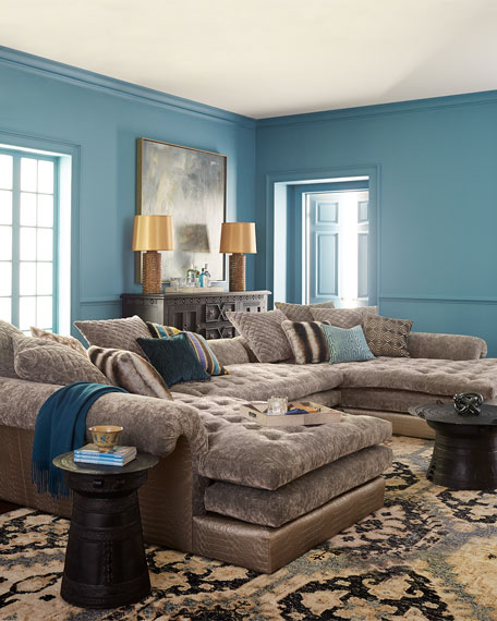 Sectional Sofas In Hickory Nc: Old Hickory Tannery Galvin Sectional Sofa