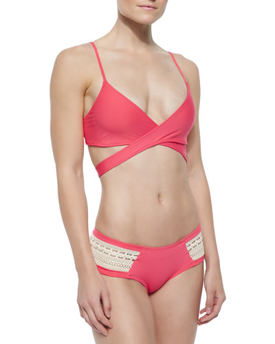 Chloe Crisscross Swim Top & Assorted Bottoms