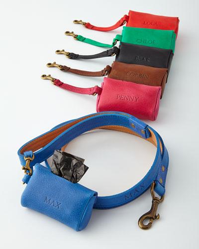 Personalized Dog Bag Case & Leash