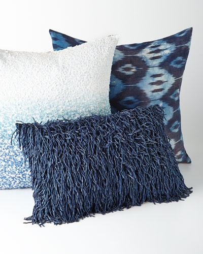 Shades of Blue Pillows