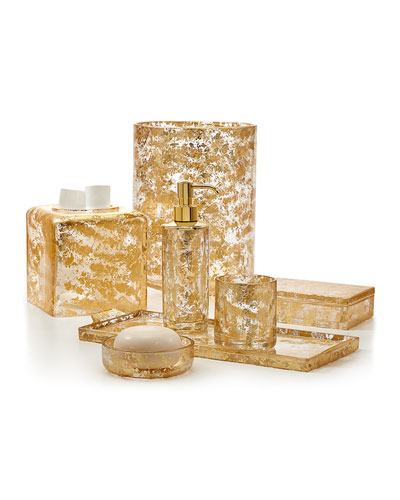 Lydia Gold Crystal Vanity Accessories