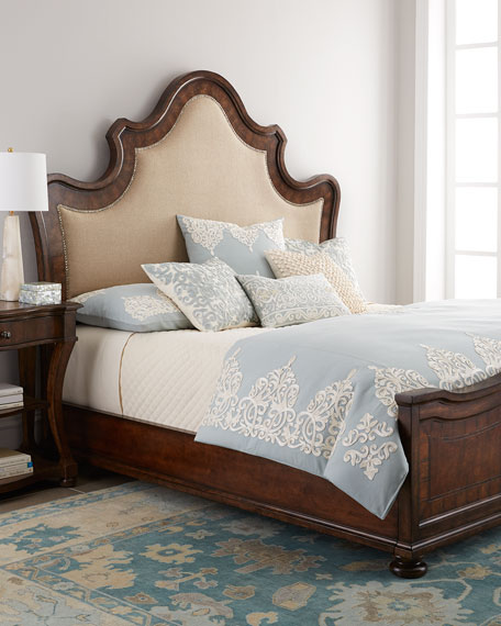 Neimanmarcus Karissa Upholstered King Bed