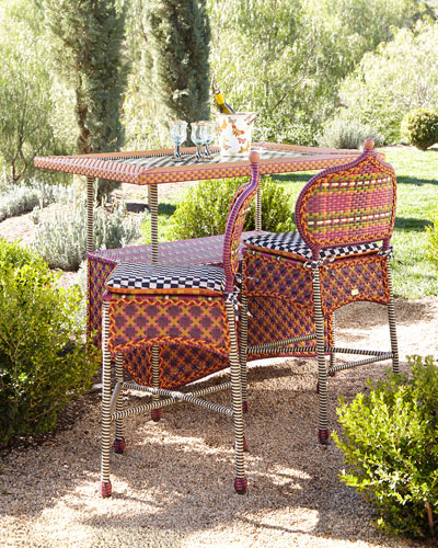 Sunset Outdoor Barstool & Bar Table