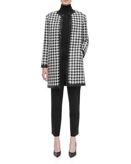 Ralph Lauren Black Label Cashmere-Silk Knit Turtleneck Top