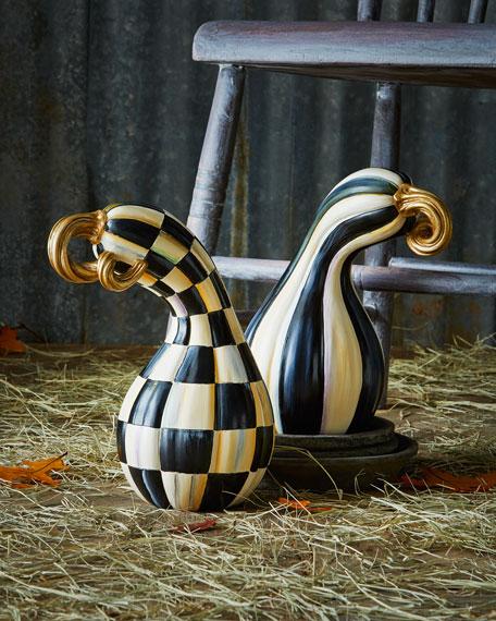 MacKenzie-ChildsCourtly Check Large Gourd