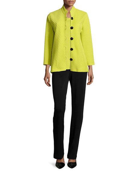 Caroline Rose Wool Ottoman Easy Jacket