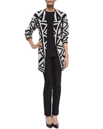 Mirrored Angles Jacket, Perfect Layer Tank & Slim Wonderstretch Pants, Women