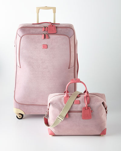Life Pearl Pink Luggage