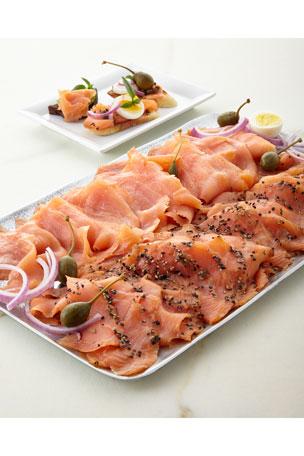 Norwegian Smoked Salmon, For 18-20 People Lemon-Pepper Smoked Salmon, For 18-20 People
