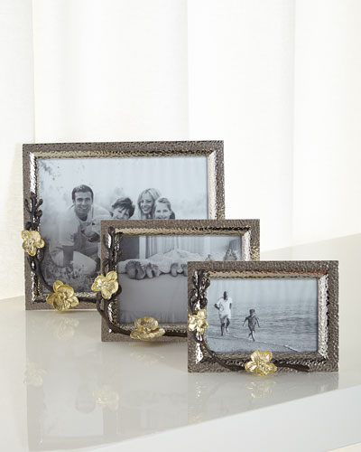 Gold Orchid Frames